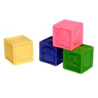 Резиновая игрушка набор кубики