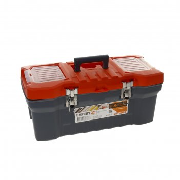 Ящик для инструментов expert 22, серо-свинцовый