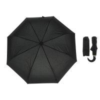 Зонт автоматический, 13720, r=50см, цвет чёрный