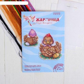 Набор для вышивания курочка ряба 10*9 р-472
