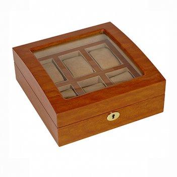 Шкатулка для хранения 6 часов и украшений, арт. afn-wb600v6