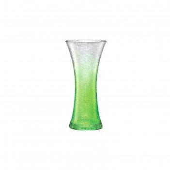 Ваза 34 см, зелёная