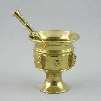 Ступка из бронзы с пестиком (арт. al-80-233)