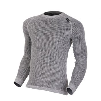 Футболка jovan с дл.рукавом (s) (цвет grey)
