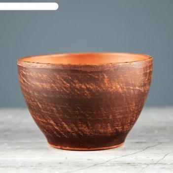 Солонка, красная глина, 0,12 л