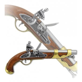 de-1011 пистоль франц. кавалерии, 1800 г.
