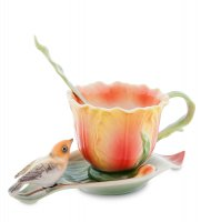 Fm-83/ 5 чайная пара тюльпаны (pavone)