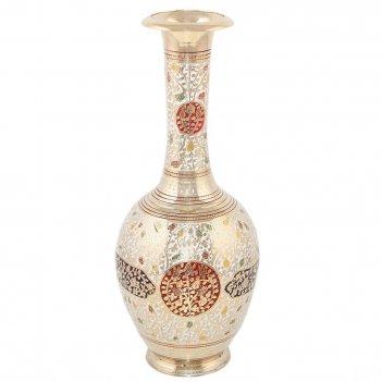 Ваза кашмирская (белый виноград с орнаментом)