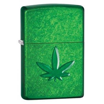 Зажигалка для трубок zippo pipe с покрытием meadow™, латунь/сталь, зелёная