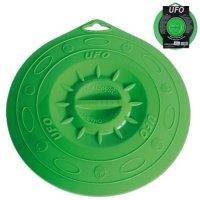 Крышка, dia 21,5 см, силиконовая, цвет зеленый, серия ufo, s