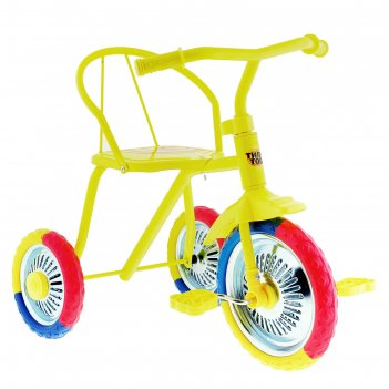 Велосипед трёхколёсный «тип-топ 313», колёса 10 и 8, цвет микс