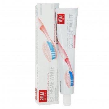Зубная паста splat special extreme white, 75 мл