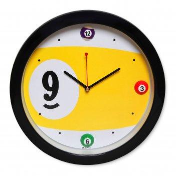 Часы бильярд sn5026 ?29,5см