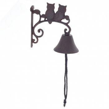 Дверной колокольчик совы, l10 w20 h18 см