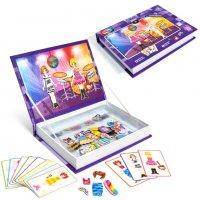 """Игровой набор магбук - мозаика с магнитами """"диско"""""""
