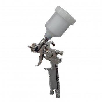 Краскораспылитель forsage f-sg-1047, верхний пластиковый бачок, 250 мл, 0.