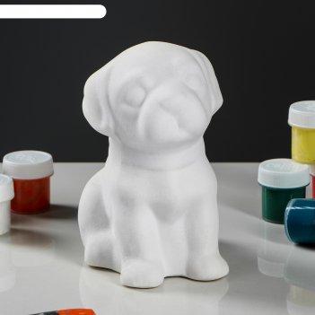 Копилка-раскраска щенок