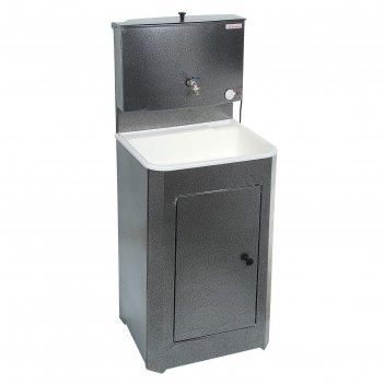 Умывальник акватекс, с эвн, пластиковая мойка, 1250 вт, 17 л, цвет серебро