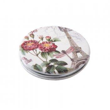 Зеркало dewal beauty серия парижская мода карманное круглое, d