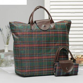 зеленые хозяйственные сумки