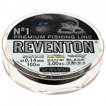Леска balsax reventon black 0.14, 100м