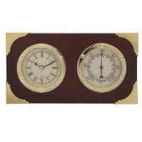 Метеостанция (термометр) с композицией время, l16,7 w4,5 h...