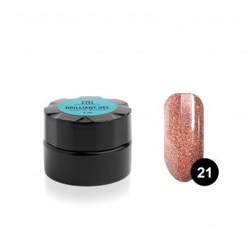 Гель для ногтей tnl «жидкая фольга» №21 венера, 5 мл