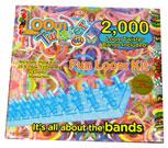 Набор цветных резинок для плетения фенечек