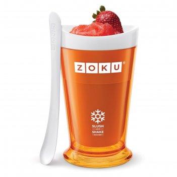 Форма для холодных десертов slush   shake, оранжевая