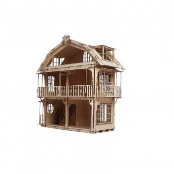 Деревянный конструктор «дом кукольный»