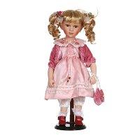 Фарфоровая кукла беллас мягконабивным туловищем ...