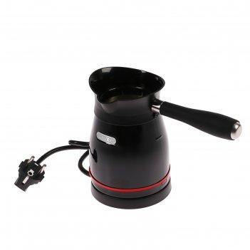 Турка электрическая centek ct-1098 bl, 1000 вт, 0.5 л, черная