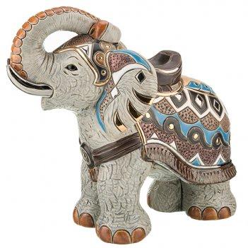 Статуэтка декоративная индийский слон длина=32 с...
