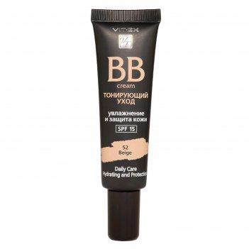 Bb-крем для лица vitex spf15, тон 52 beige, 30мл