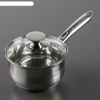 Ковш 1,8 л с крышкой диана, индукция, d=16 см
