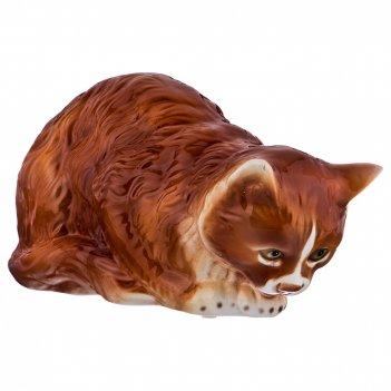 Декоративное изделие персидская кошка 29*14см. высота=15см.