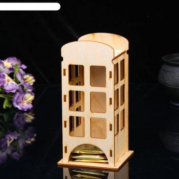 Чайный домик «телефонная будка», 20 x 10 x 10 см