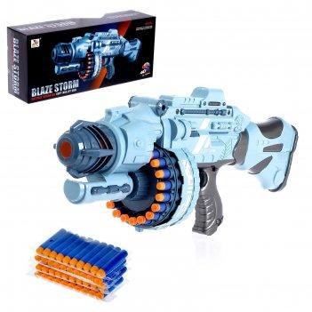 Бластер «апекс», стреляет мягкими пулями, работает от батареек