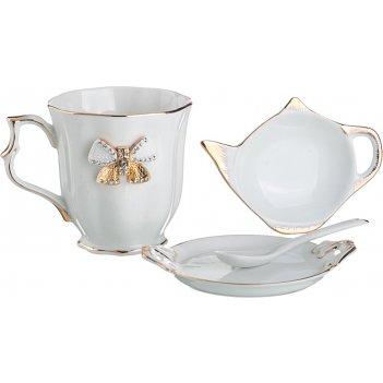 Чайный набор на 1 персону 4 пр. venezia