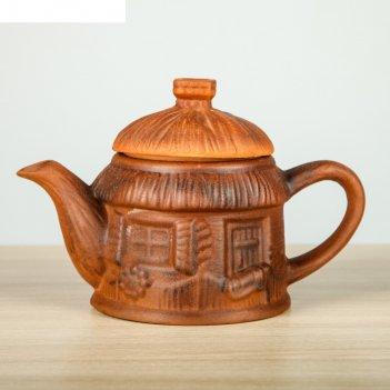 Чайник для заварки 1 л домик