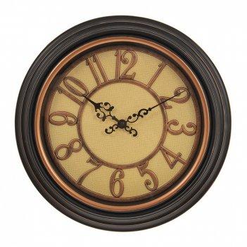 Часы настенные декоративные (1xaa не прилаг.), l35,5 w6 h35,5 см