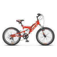 Велосипед 20 stels pilot-260, v020, цвет красный, размер 13