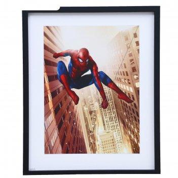 Постер человек-паук 40х49 см