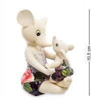 Jp-121/11 фигурка мышь с малышом (pavone)