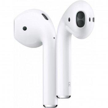 Наушники с микрофоном apple airpods (mv7n2ru/a), кейс для зарядки, белые