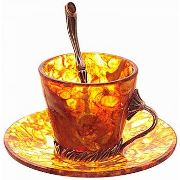 Кофейный набор из янтаря лето