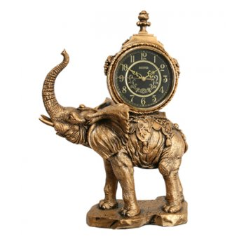 Скульптурные часы из полимерных смол восток к4547-1-1