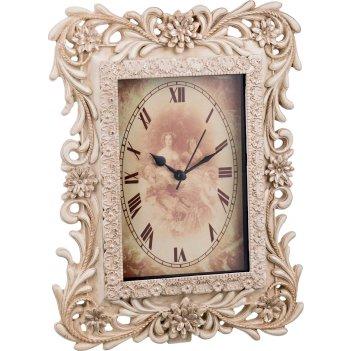 Часы кварцевые настольные 20,2*6*26,3 см. (кор=8шт.)
