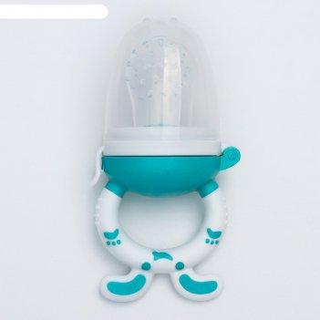 Ниблер с силиконовой сеточкой, цвет микс