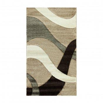 Ковёр rio carving 024 beige/beige 1.5*4.0 м, прямоугольный